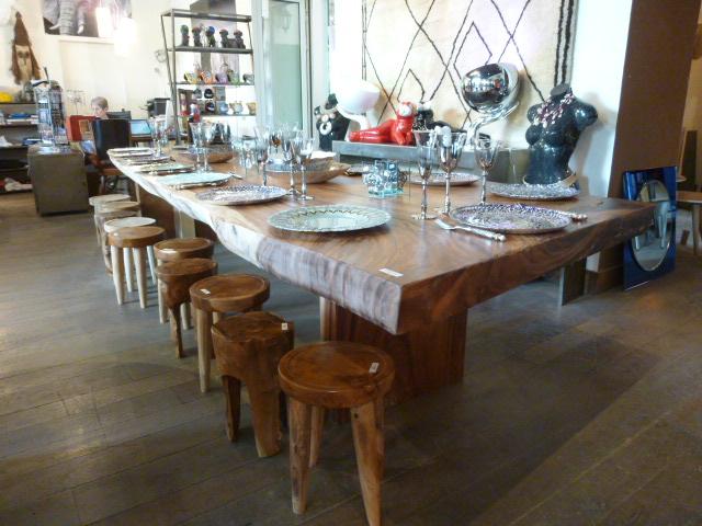 Table En Suar Tables De Salle A Manger Et Mobilier Sur Galerie Demesure